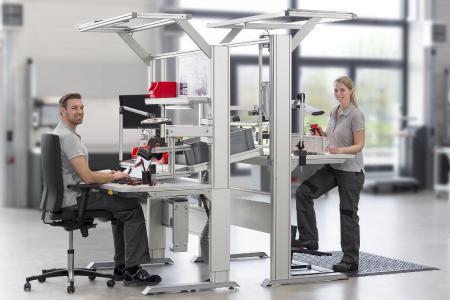 Bei einem AGR-zertifizierten Industriearbeitsplatz ist das Gesamtkonzept entscheidend. Bild: AGR e. V.