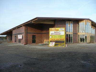 Das Hofgebäude 2008 kurz vor der Fertigstellung