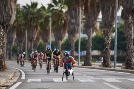 Alessandro Zanardi, Triathlon, Handbike, Barcelona
