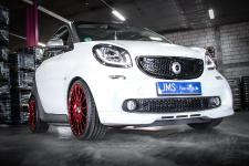Modernizing the microcar: Smart Fortwo 453 with OZ light alloy wheels and more...