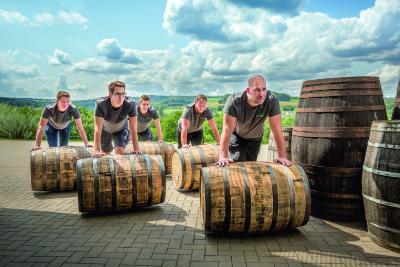 Die Destillateure der Birkenhof-Brennerei