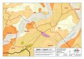 [PDF] Die geologische Karte zeigt vulkanisches Gestein: Die grünen Flächen sind Basalt im orangefarbenen Sandstein