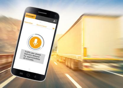 The smartphone version of VoicR can be combined with existing OEM apps, Photo: © Continental