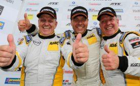 Erfolgstrio: Die Routiniers Heinz-Otto und Jürgen Fritzsche sowie Thorsten Wolter sicherten sich den Gesamtsieg im Astra OPC Cup
