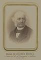 Historisches Foto (mit falschem Todesjahr in der Unterzeile) von Johann Michael Kiderle (um 1880): © Historisches Archiv des BKH Kaufbeuren