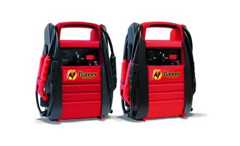 Neue Starthilfegeräte von Banner Batterien: die Power Booster PB12 und PB12/24, Foto: Banner Batterien