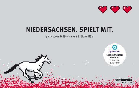 nordmedia Niedersachsen.Spielt mit gamescom2019