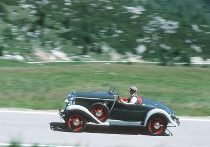 Rarität: Bei der ADAC Opel Classic Hessen-Thüringen 2015 ist ein Opel Moonlight Roadster von 1933 am Start