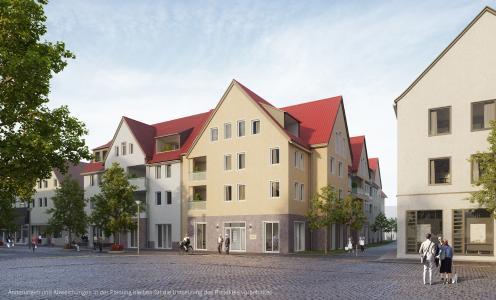 Visualisierung des Bauvorhabens in der Klosterstraße in Rinteln