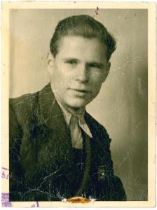 Reinhold Kilian im Jahr 1950 / Foto: Privat