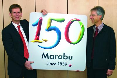 marabu feiert geburtstag 150 jahre ideen mit farben marabu gmbh co kg pressemitteilung. Black Bedroom Furniture Sets. Home Design Ideas