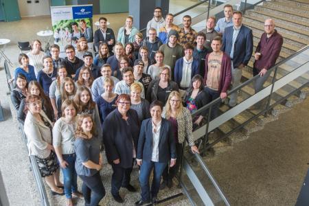 Beim Netzwerktreffen der Studienpioniere aus den geförderten Projekten in Niedersachsen tauschten sich Studierende und Programmverantwortliche über Erfahrungen und Zukunftspläne aus / Foto: Swaantje Hehmann