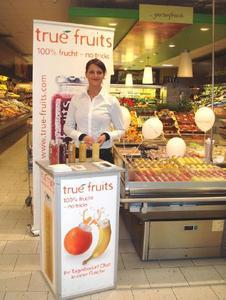 Die Verkaufsförderungs-Agentur Adsolution GmbH konnte im Frühjahr 2008 den Bonner Getränkehersteller True Fruits als Neukunden gewinnen