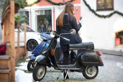 TÜV SÜD: Motorroller ist Mobilitätsalternative selbst bei Minusgraden