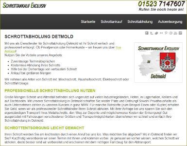 Schrottankauf Exclusiv in Detmold