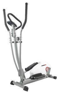 PEARL sports Crosstrainer mit Pulsmesser, 5 kg Schwungmasse