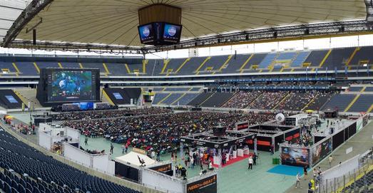 Pressefoto ESL One Frankfurt 2014 (1) (Quelle: Commerzbank-Arena)