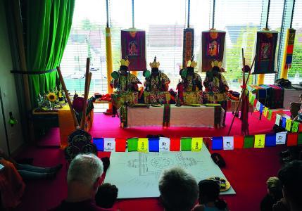 Mandala im Christophsbad: Einführung in Kunst und Bedeutung