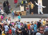Gaukler am Mittelaltermarkt