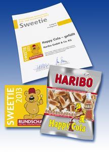 Sweetie 2013: Happy  Cola gefüllt