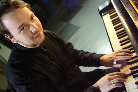 Florian Weber am Flügel