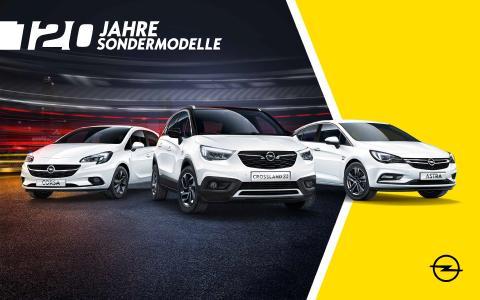 Die Jubiläumskampagne zu 120 Jahren Opel-Automobilbau