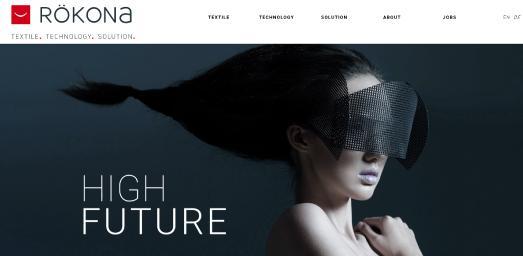 Screenshot Homepage RÖKONA Launch