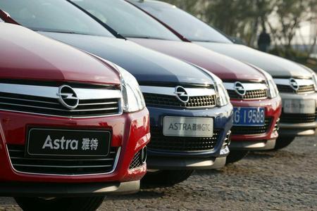 Opel in China: Besonders der Astra Fünftürer und der GTC stoßen derzeit auf reges Kundeninteresse