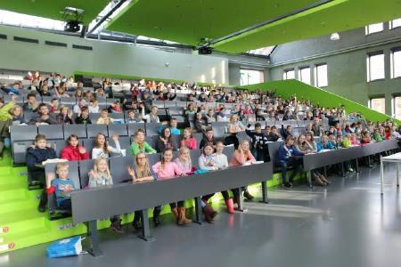 In einem Monat startet die 14. Kinderuniversität an der Technischen Hochschule Wildau