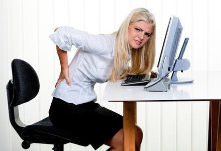 Rückenschmerz (Fotolia)