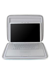 """Crumpler Hard Suit Special Edt.15"""" MacBook open"""