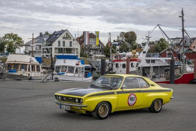 Wie vor 50 Jahren: Der Opel Manta feiert am Timmendorfer Strand