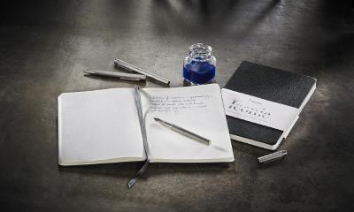 Edle Papeterie Produkte mit Tradition: Hahnemühle FineNotes Notizbücher und Schreibgeräte