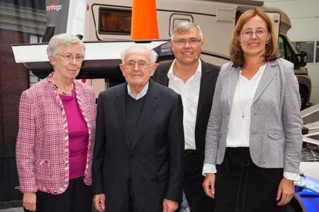 Zwei Generationen, ein Ziel: Hildegard und Alois Moser hoben das Unternehmen vor 60 Jahren aus der Taufe, Bernhard und Susanne Moser steuern erfolgreich in die Zukunft