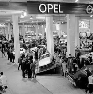 Schaustück. Auf der IAA 1965 wurde der Experimental GT erstmals gezeigt. Die Reaktionen waren begeistert. Foto: Adam Opel AG