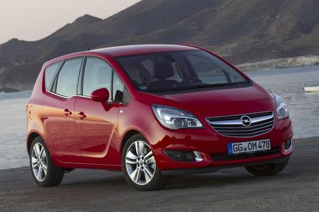 Meister seiner Klasse: Der Opel Meriva siegt beim TÜV-Report 2015 in der Kategorie der Vans © GM Company