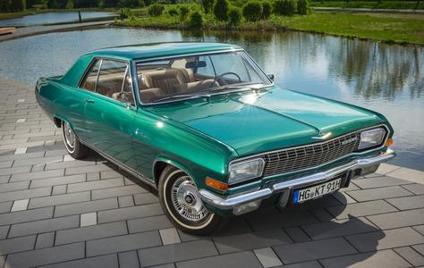 Starker Auftritt: Das Opel Diplomat V8 Coupé mit der Fahrgestellnummer 347 ist das letzte einer bei Karmann gebauten Kleinserie