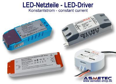 METOLIGHT LED Netzteile mit Konstantstrom