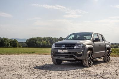 Barracuda Ultralight Project X on the Wolfsburg pick-up VW Amarok
