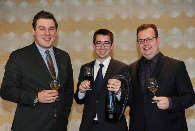 Sommelier Cup 2015 Florian Richter, Christian Connerth, Maximilian Wilm