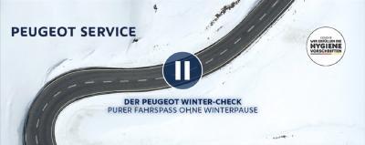 Mit dem PEUGEOT Winter-Check und Licht-Test starten Kundinnen und Kunden der Löwenmarke sicher in die kalte Jahreszeit.
