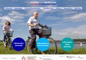 Screenshot der Startseite von www.demenz-und-migration.de
