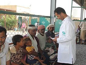Ärztliche Versorgung im Jemen © ADRA Deutschland e.V.