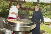 Vom Gummistiefel-Weitwerfen bis zur kirchlichen Segnung: So war unser Sommerfest im Hotel Der Alpenhof!