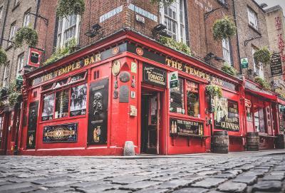 Temple Bar Dublin / Photo by Tero Vesalainen