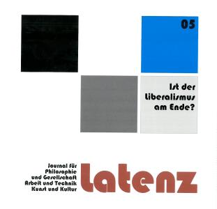 """Buchcover der neuen """"Latenz 05/2021"""""""
