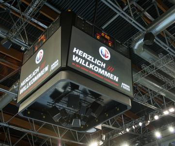 HC Erlangen - die Arena Nürnberger Versicherung wartet auf die HCE- Fans (Foto: hl-studios, Erlangen)
