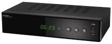 auvisio 3in1-Digital-Receiver DCR-200 für DVB-C, DVB-T2 & Webradio, Mediaplayer, H.265