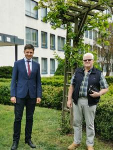Mark Förste und Ingolf Hinkel, Foto (C) Toskanaworld