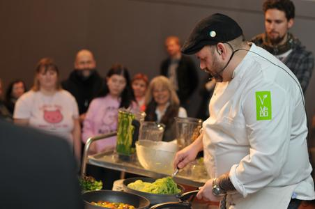 Kochshow mit Jérôme Eckmeier - Foto Robert Kresse